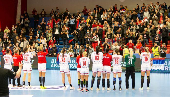 Poraz Srpkinja na Islandu